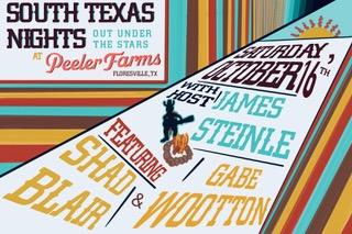 South Texas Nights out under the stars at Peeler Farms.